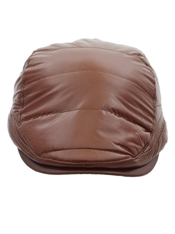 FabSeasons Brown Solid Premium Golf Cap
