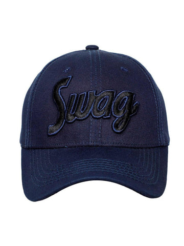 FabSeasons Swag Blue Cotton Baseball Cap