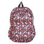 FabSeasons Red Camouflage Polyester Graphic Printed Backpack