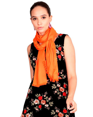 FabSeasons Cotton Viscose Solid - Plain Super Soft & Stylish Scarf