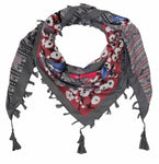 FabSeasons Cotton Floral Printed Soft & Stylish Square Scarf