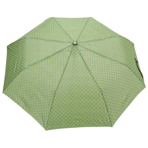 FabSeasons Green Printed 3 fold fancy Automatic Umbrella
