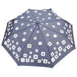 FabSeasons Unisex Graphic Printed 3 fold Fancy Automatic Blue Umbrella