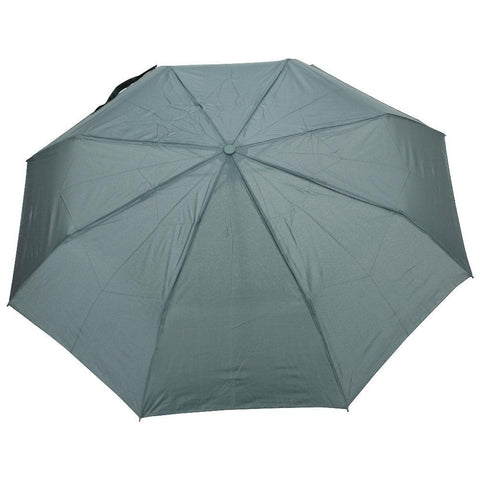 FabSeasons Green Solid 3 Fold Fancy Umbrella