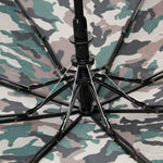 FabSeasons  Camo-Green Military Printed 3 Fold Umbrella