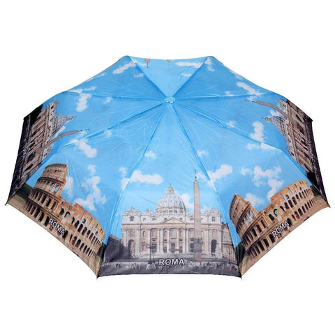 FabSeasons Roma Printed 3 fold Umbrella for Rains and all Seasons