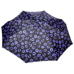 FabSeasons 5 fold Blue Lips Printed Small Compact Manual  Umbrella