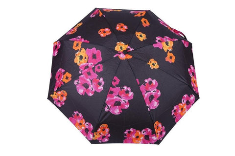 FabSeasons 5 fold Flower - Floral Digital Printed Small Compact Manual Umbrella