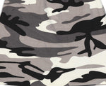 Fabseasons Grey White Camouflage Beanie cap