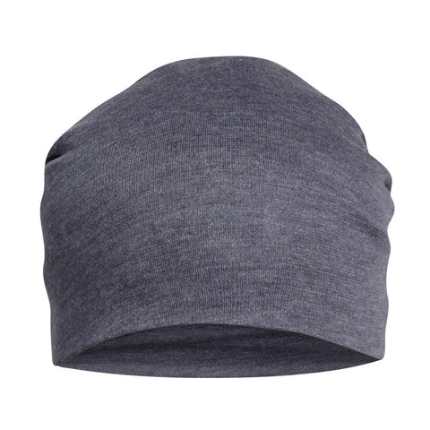Fabseasons Plain Blue Cotton Slouchy Beanie and Skull Cap