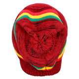 FabSeasons Unisex Red Acrylic Woolen Slouchy Beanie and Skull Cap for Winters