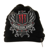 Fabseasons Black Monster Army Cotton Slouchy Beanie and Skull Cap