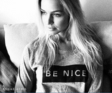 BE NICE Slouch Crew