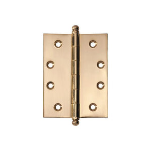 Hinge Loose Pin Polished Brass H100xW75mm