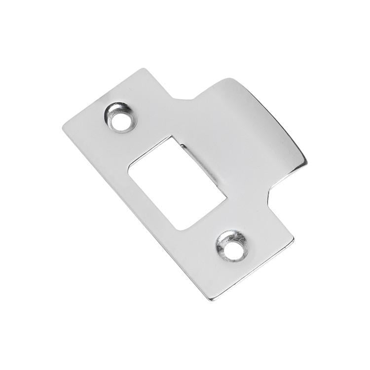 Tube Latch Striker Universal Small 'T' Chrome Plated H56xW42mm