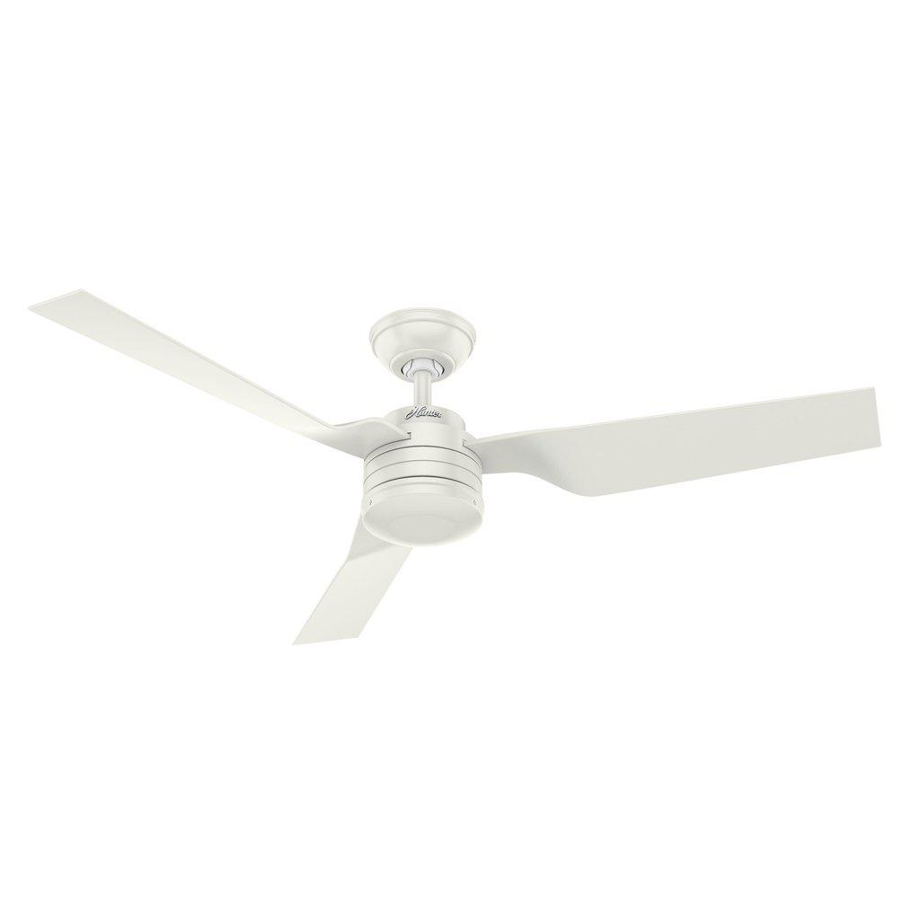 Hunter Cabo Frio (132cm/52) Fresh White W White Outdoor Moulded Blades FANS HUNTER LIGHTING & FANS