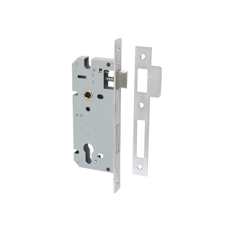 Mortice Lock Euro Satin Chrome CTC85mm Backset 45mm
