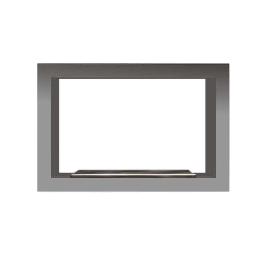 Classic Double Firebox 614 Burner & Stainless Steel Fascia