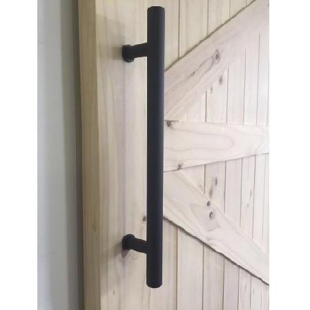 Classic Large Black Handle Single Side H-B11400S