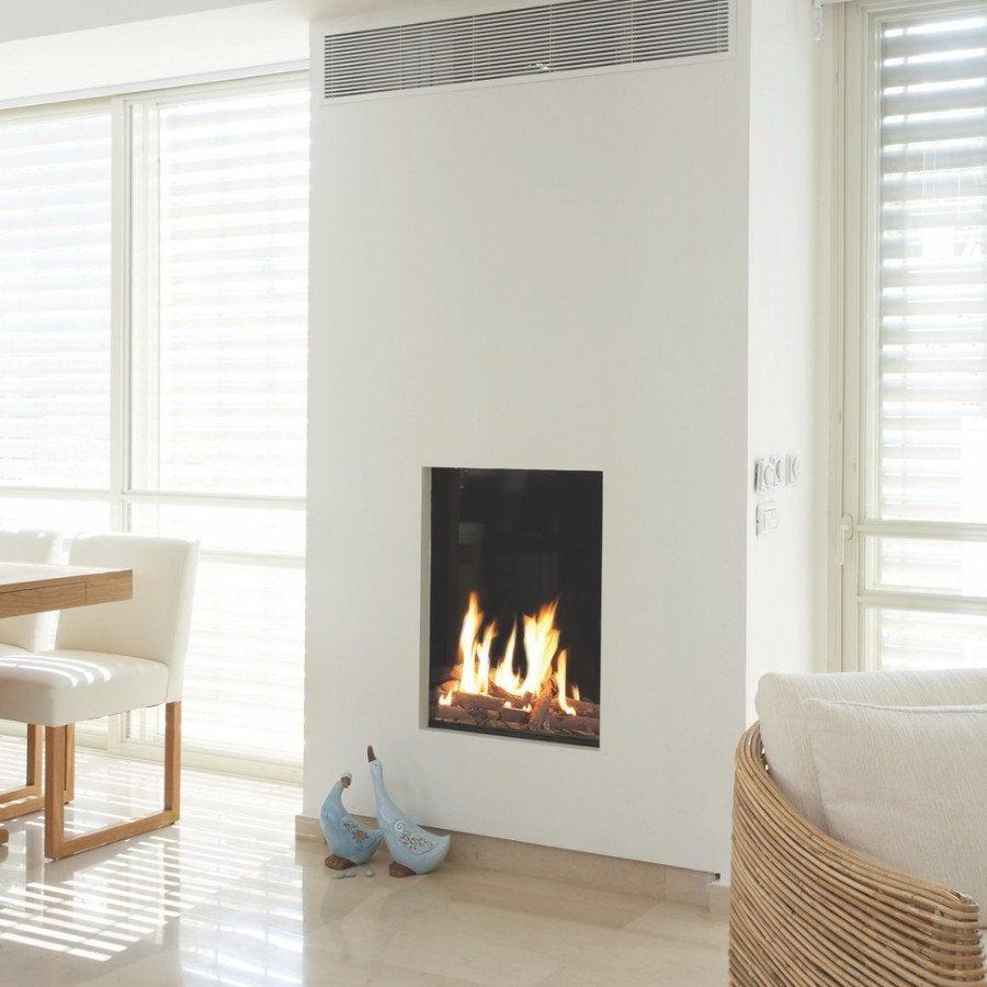 Ortal Front 60X80 Double Glass GAS FIRES - MODERN LINEAR FIREPLACE
