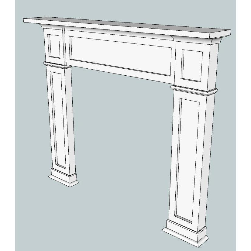 Hampton MDF Mantle