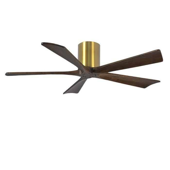 Atlas Irene Hugger 5H (132cm/52) Brushed Brass FANS ATLAS LIGHTING & FANS