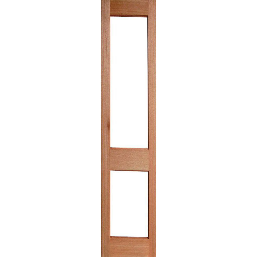Solid Exterior French Door 2 Light