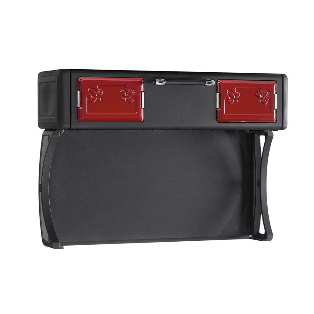 Milly Wood Cooker Warming Compartment