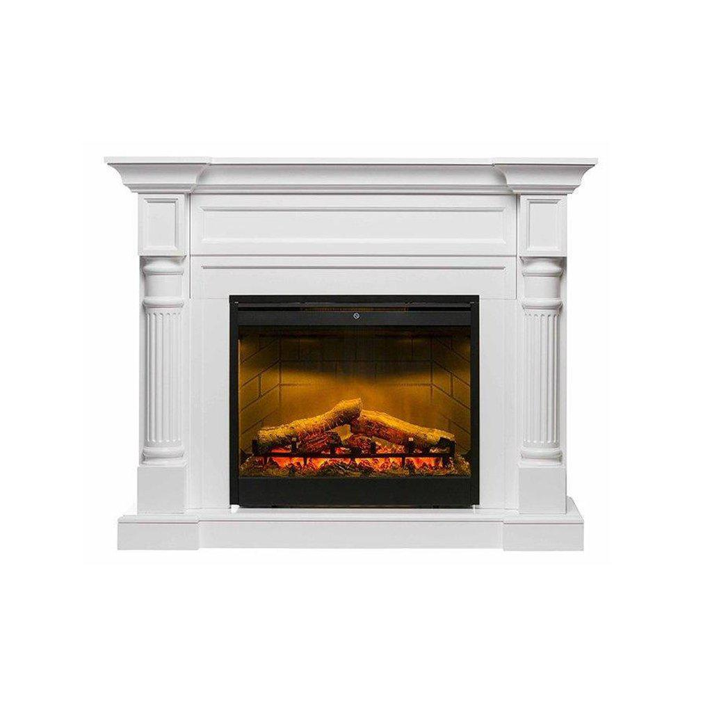 Winston Mantle With 2kW Led Firebox ELECTRIC FIRES FIREPLACE