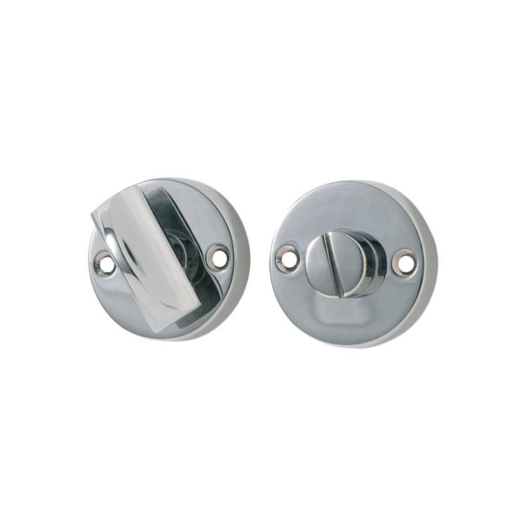 Privacy Turn Round Chrome Plated D35mm