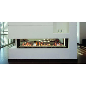 Ortal Tunnel 200 Double Glass GAS FIRES - MODERN LINEAR FIREPLACES & HEATING