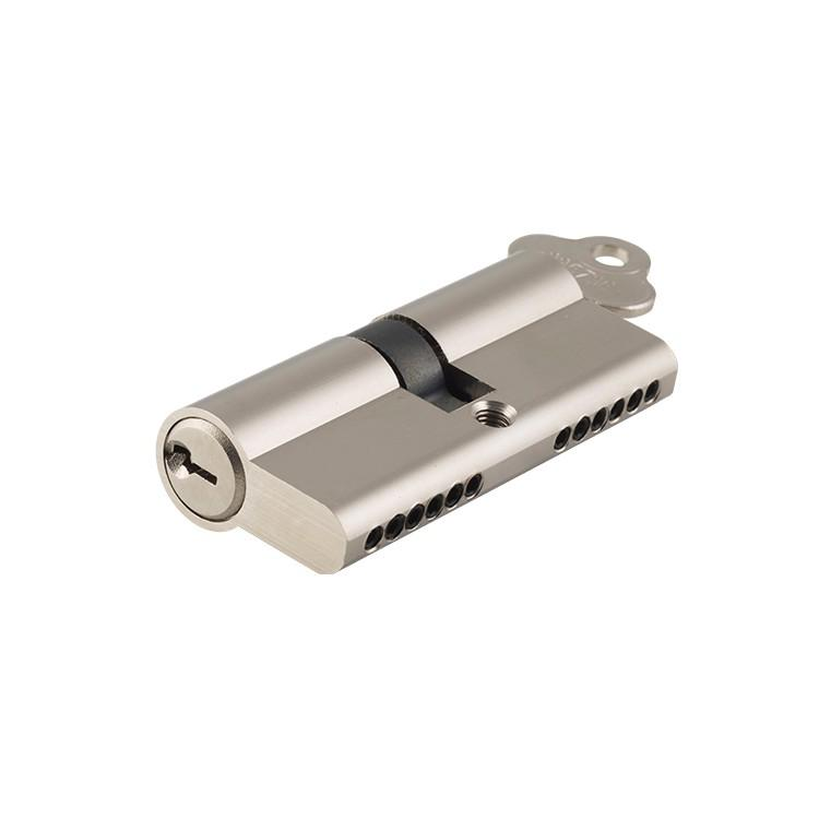 Euro Cylinder Key/Key 6 Pin Satin Nickel L70mm