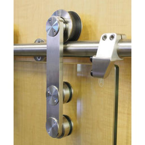 Modern Stainless Side Mount