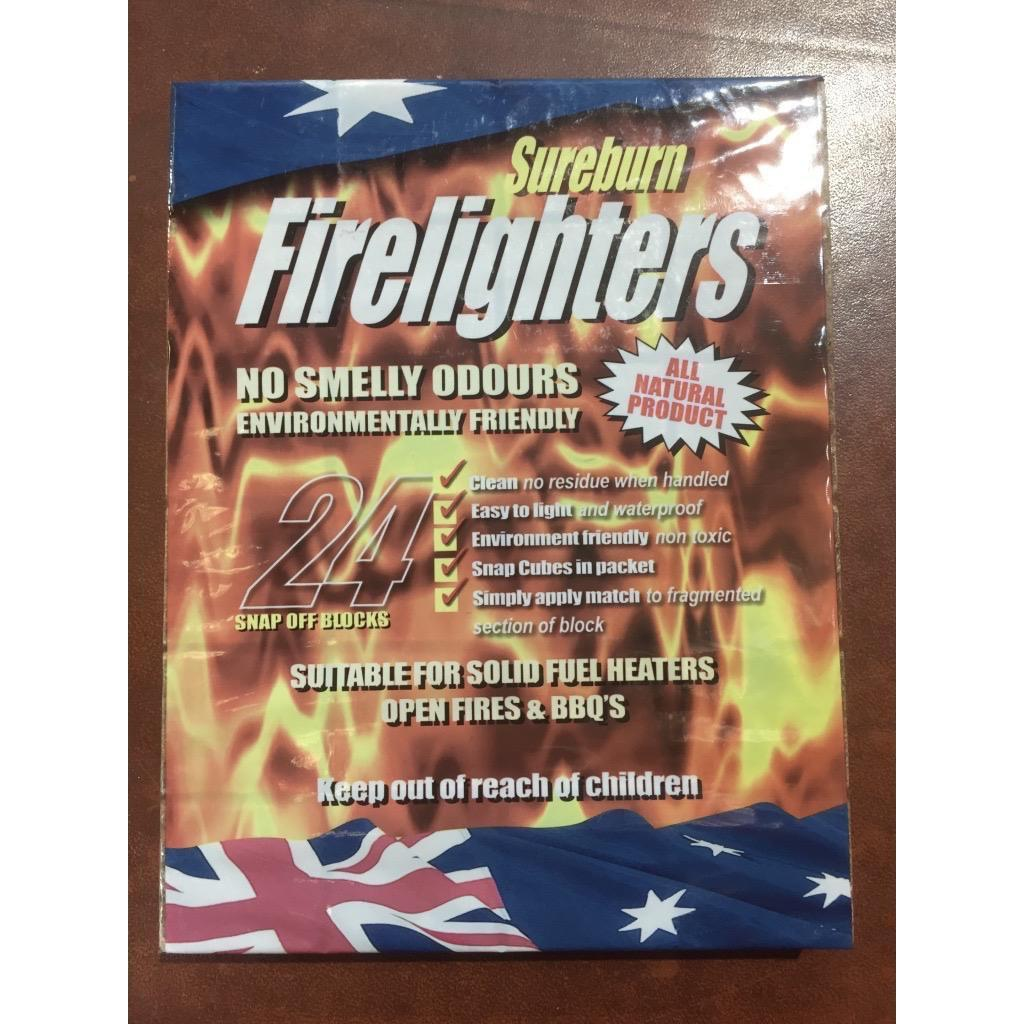 Firelighters Sureburn Waterproof pk 24