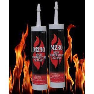 Stove Bright M230 High Temp Sealant 10.1Oz Cartridge Black FIREPLACE ACCESSORIES FIREPLACES & HEATING