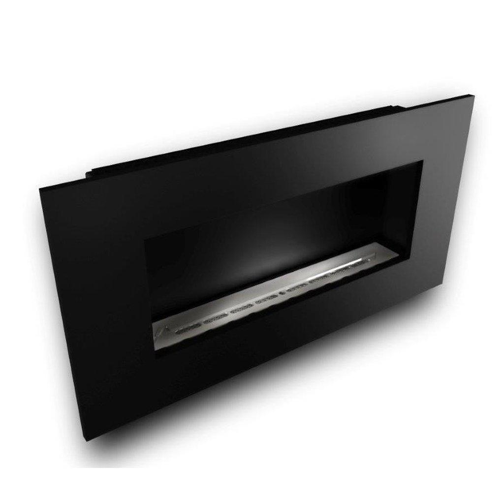 Nero 1150 with Slimline 800 Burner with Black Powder Coated Fascia