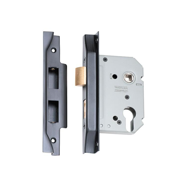 Mortice Lock Euro Rebated Antique Copper CTC47.5mm Backset 57mm LOCKS, LATCHES & HINGES HARDWARE