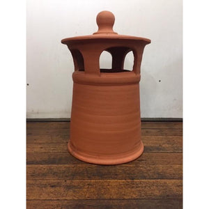 Heritage Terracotta Chimney Pot Large 30cm Dia x 48cm High CHIMNEY POTS FIREPLACES & HEATING