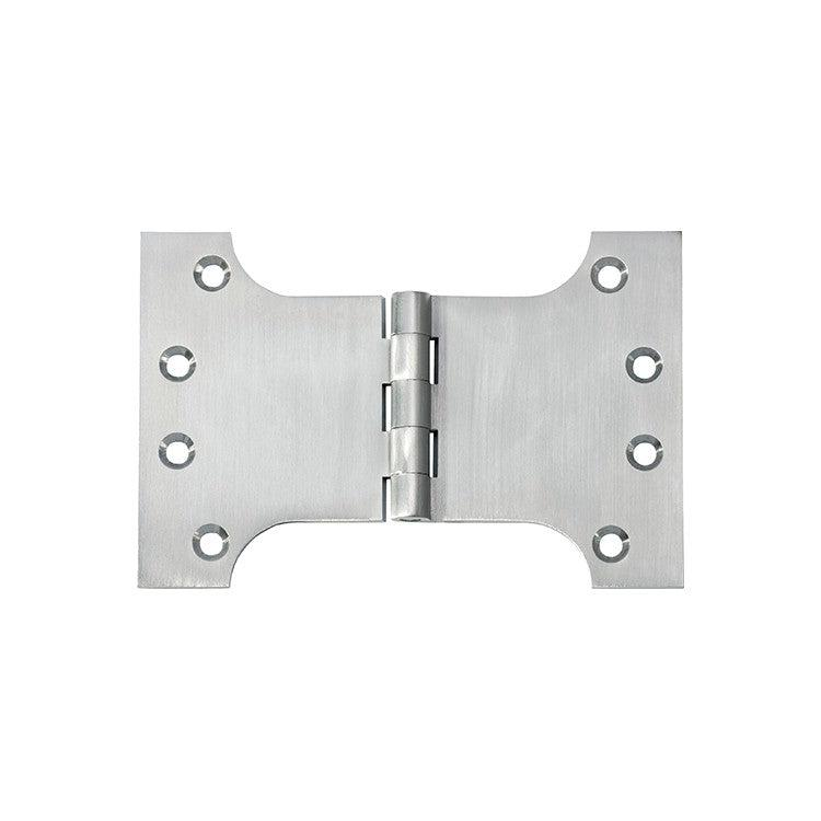 Hinge Parliament Satin Chrome H100xW150mm