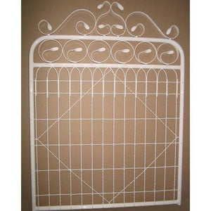 Emu Woven Wire Pedestrian Gate 'E' 120 High Powder Coated