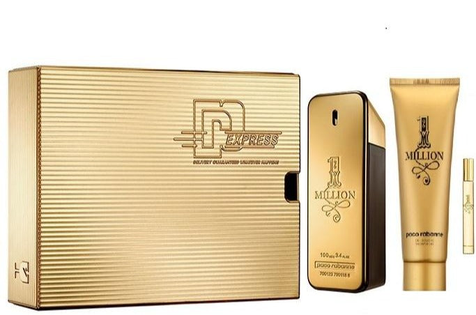 1 MILLION EDT 100ML + SG 100 + 10ML ESTUCHE - PACO RABANNE