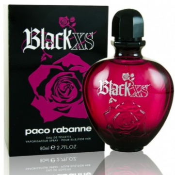 Black XS For Her EDT 80ml- Paco Rabbanne