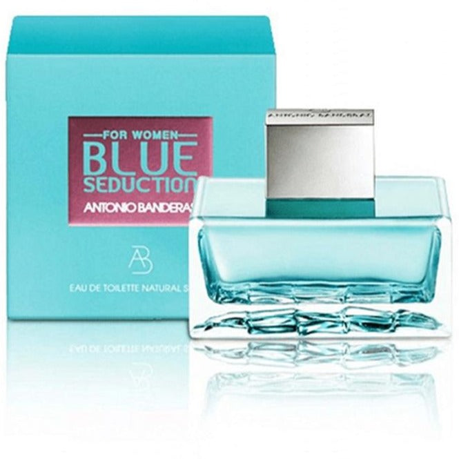 Blue Seduction For Women EDT 80 ml - Antonio Banderas - Multimarcas Perfumes