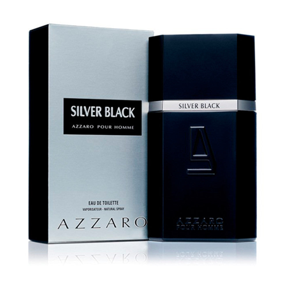 Silver Black EDT 100 ml - Azzaro - Multimarcas Perfumes