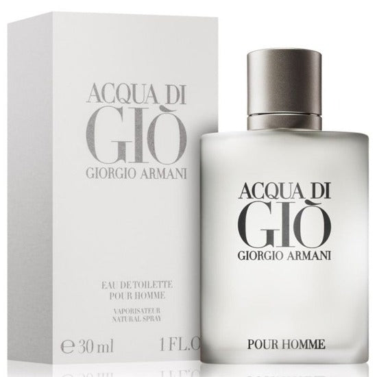 Acqua Di Gio Homme EDT 30 ml - Armani - Multimarcas Perfumes