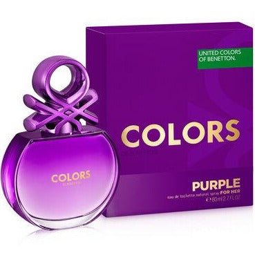 COLORS PURPLE EDT 80 ML - BENETTON