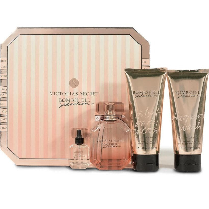 BOMBSHELL SEDUCTION EDP 50 ML + 7.5 ml + 100 ml body lotion + 100 lotion hidratante - VICTORIA'S SECRET