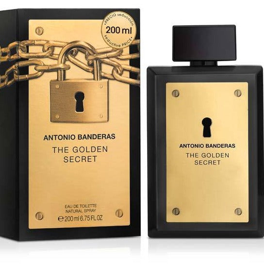 The Golden Secret EDT 200 ml - Antonio Banderas