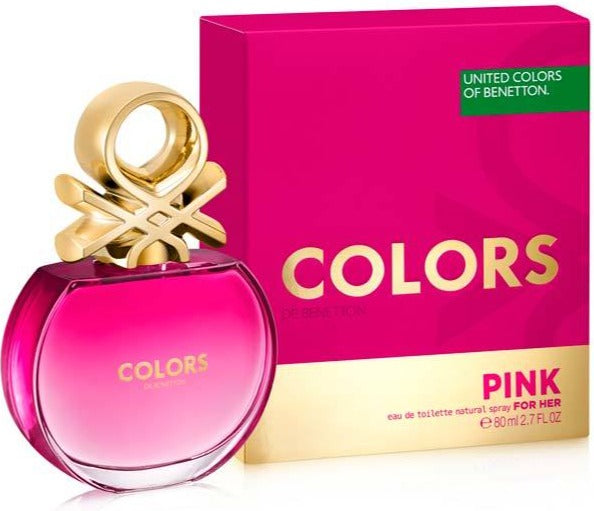 COLORS PINK EDT 80 ML- BENETTON