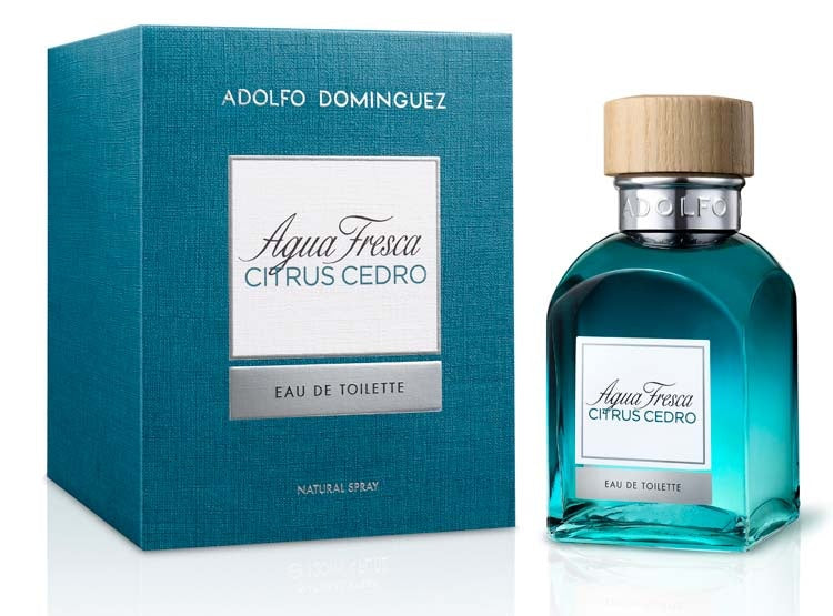 Agua Fresca Citrus Cedro EDT 60 ml - Adolfo Dominguez